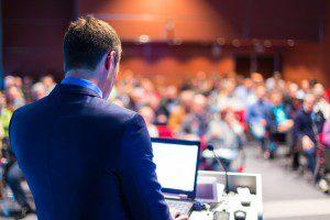 Speaker Congreso - Atlántico Catering y Eventos